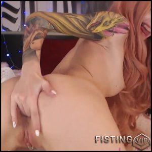 Butplug And Fucking Machine Porn – Purple_bitch – Dildo Anal, Fucking Machine
