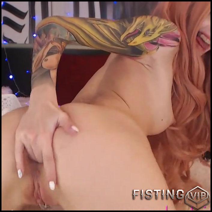 Butplug And Fucking Machine Porn – Purple_bitch - Dildo Anal, Fucking Machine