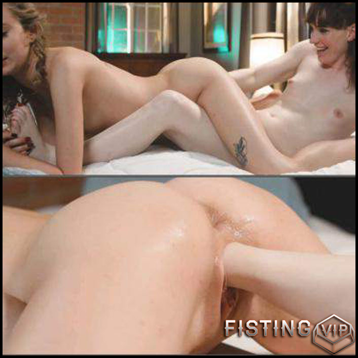 Fisting Domination To Sexy Girl Haley Reed - Natalie Mars - Pussy Fisting
