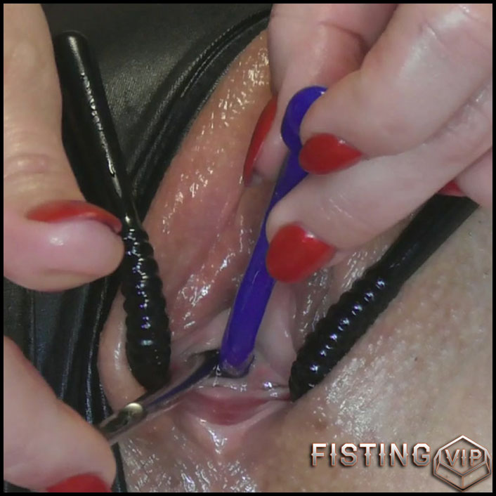 My Peehole Toys With Prolapse Anal - BIackAngel - Mature Anal, Urethra Fuck