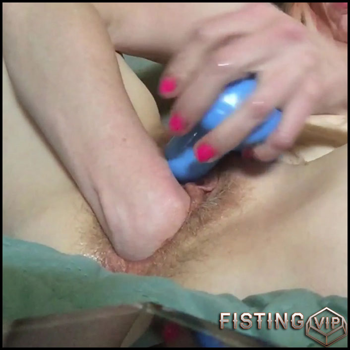 Part III Cream Fest Fisting Hairy Pussy - Ashley Mercy - Solo Fisting, Webcam Fisting