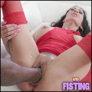 Monster Red Plug And Big Black Cocks In Anal Gape – MorganXX – Huge Dildo