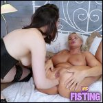 Rough Anal Fisting And Dildo Sex Lesbians – London River and Casey Calvert – Lesbian Fisting