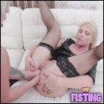 Double Fisting And Anal Footing Sex To Prolapse – Brittany Bardot and Sindy Rose – Lesbian Fisting
