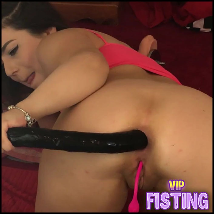 Long Anal Insertion