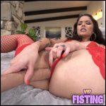 Gets Long Dildo Double Penetration Anal And Vaginal – Vanessa Vega – Double Dildo