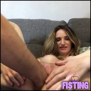 Being Fisted With Real Orgasm Amateur Closeup – Ariel Blaze – Pussy Fisting