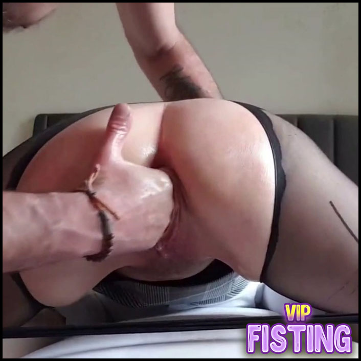 Closeup Double Cucumber Penetration In Ass And Pussy My Wife