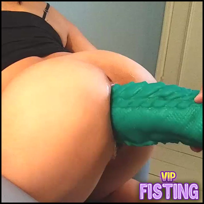 Monster Bad Dragon Dildo And Fist Penetration In Wifes Anal