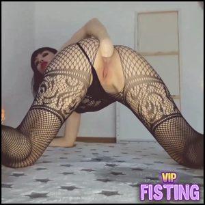 Anal, Milk Enema, Prolapse, Farting, Pee – Mylene – Anal Fisting, Long Dildo
