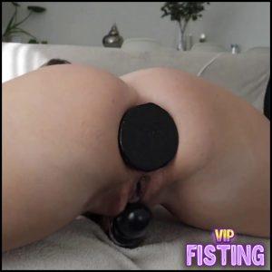 Monster Buttlug Disappears In Her Asshole Webcam – Helena Lana – Dildo Anal