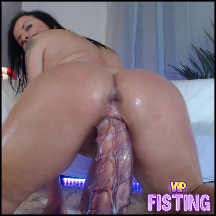 Large Labia Brunette Anal Rosebutt Stretched And Squirt At The Moment