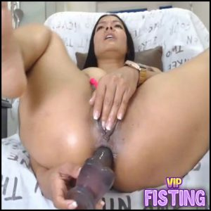 Webcam Big Tits Brunette Self Fuck Dildos In Rosebutt Asshole – Dildo Anal