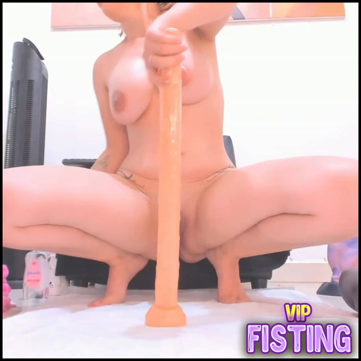 Big Tits Latin Pornstar Yeni_Luv_Anal Long Dildos Anal Play