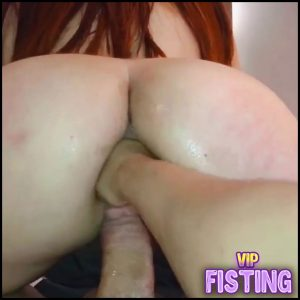 Anal Fisting, Screaming With The Ass Being Destroyed – CasalFist – Anal Fisting