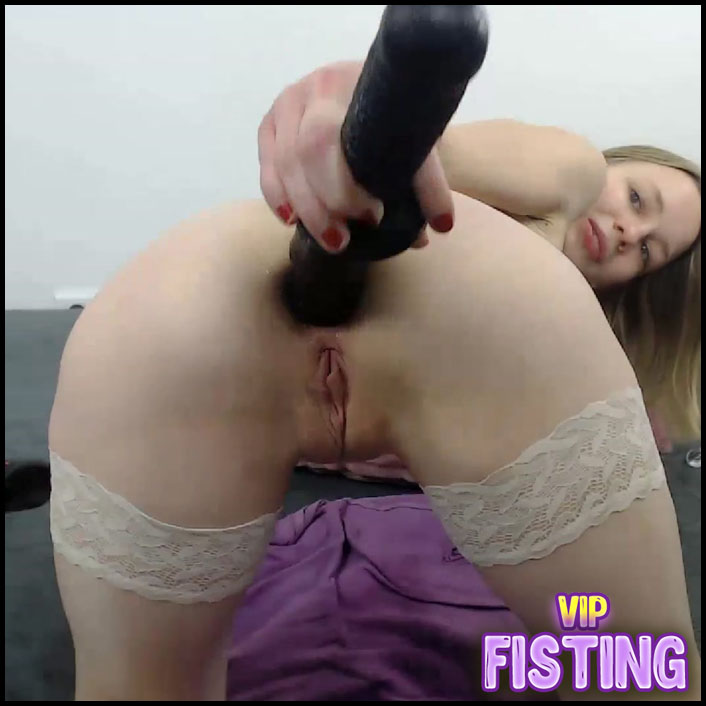 Amazing German Blonde Teen Fantastic Anal Rosebutt - JanaBellaCam