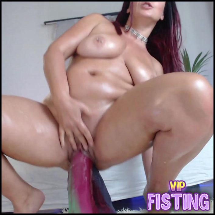 Really Huge Tits MILF Sweet Anal Rosebutt Loose