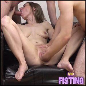 Amateur Gangbang German Fisting Sex With Skinny Pornstar – Pussy Fisting