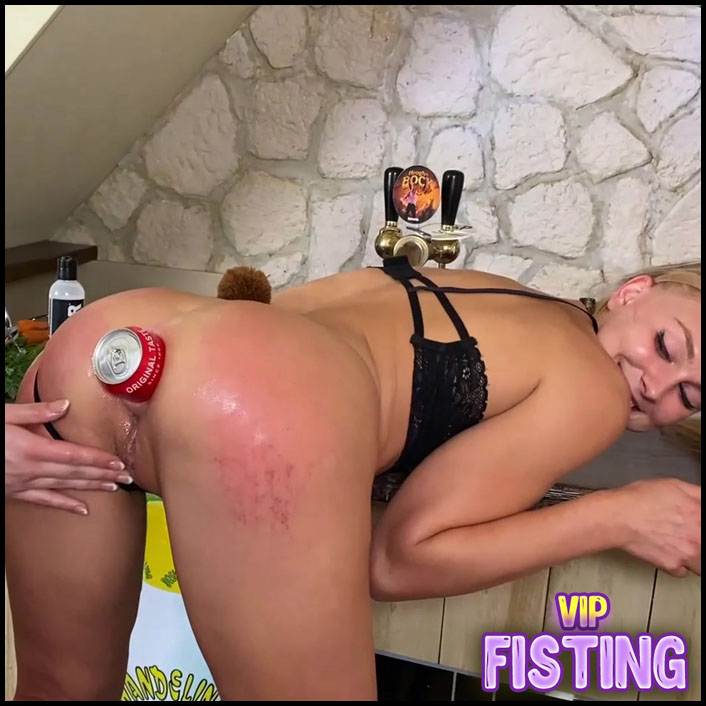 Speculum and Cola Bottle Anal Domination To Famous Blonde Teen - Siswet19