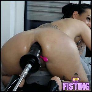 Smoking MILF Anal Fucking Machine Sex Webcam Show – Hotmilfbitch – Fucking Machine