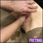 Skinny Kinky Wife Enjoy Deep Fisting From Her Husband – Love Banaxy – Pussy Fisting