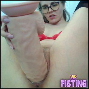 Destroing My Pussy With 13 Inch Dildo – Princess_G – Colossal Dildo