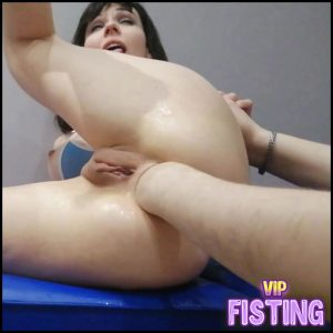 Dismoralica Ride My Friend's Fist With My Asshole – Anal Fisting