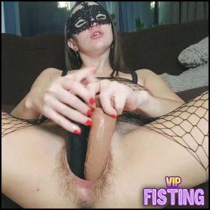 Masked Horny Hairy Pornstar Double Dildos Vaginal Porn – Fallen Angel – Dildo Porn