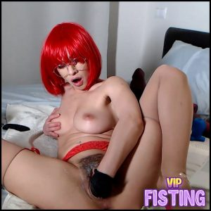 Rubber Glove Fetish Fisting Porn With Russian Girl – Stacy Bloom – Webcam Fisting