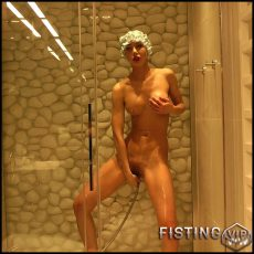 Hotkinkyjo – Shower enema fun – Full HD-1080p, extreme pussy fisting, fisting porn (Release July 20, 2017)